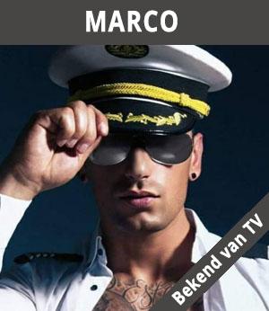 mannelijke stripper Marco Toro
