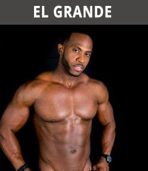 donkere stripper El Grande boeken
