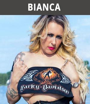 huur striptease Bianca voor motorclub